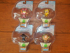 Poptropica Pocketeer **COMPLETE SET OF 4** - Dr. Hare Lion Astroknight Hamburger