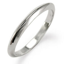 14k White Gold Knife Edge Wedding Band Ring Choose Ring Size 4 to 9.5 #R1094