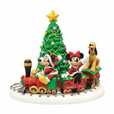 Dept 56 Disney Christmas Village Mickey's Holiday Express 4020326 NEW NIB Minnie