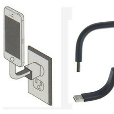 9.5cm Bendable Stand USB Data Sync/charger Cable For iPhone 5/ 5s/ 5c/mini /iOS7