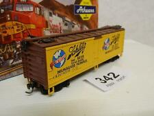 "Athearn HO 40ft Wood Reefer ""Schlitz"" RN 92132"
