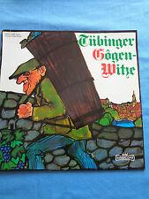 Walter Schultheiß - Dieter Eppler  LP TÜBINGER GOGEN-WITZE  Intercord 1973