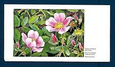 CANADA - 1973 - DOMESTOGRAMME - 8 c - Fiori: Rosa acicularis