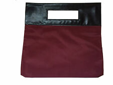 Elizabeth Arden PVC Double Sided Bag Red and Grey Black Handle