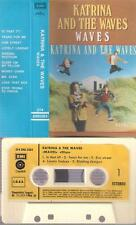 KATRINA AND THE WAVES Waves DIFICULT SPANISH cassette PAPER LABEL  SPAIN