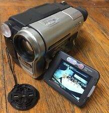Sony CCD-TRV138 Hi-8 Analog Camcorder Tested Working CAMERA ONLY w/ 1 problem