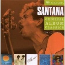 "SANTANA ""ORIGINAL ALBUM CLASSICS"" 5 CD BOX NEU"
