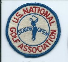 US National Golf Association senior open patch 3 in dia #1542
