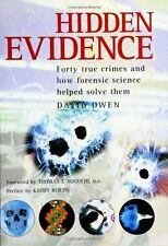 Hidden Evidence: Forty true crimes and how forensic science helped to -ExLibrary