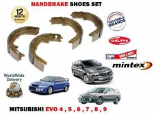 FOR MITSUBISHI EVO 4 5 6 7 8 9 IMPORT 2.0i TURBO 1996-2008 HANDBRAKE SHOES SET
