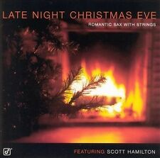 FREE US SH (int'l sh=$0-$3) NEW CD Scott Hamilton: Late Night Christmas Eve