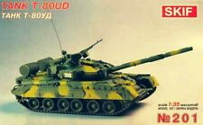 T-80 UD 'BEREZA' - SOVIET MBT W/REACTIVE ARMOUR 1/35 SKIF RARE