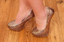 multi coloured rainbow glitter heels ENVY by Cherag party prom wedding shoes