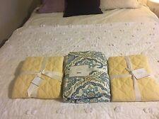 Pottery Barn Dawn Duvet Cover King/Cal King NWT Includes Belgian Flax Shams!