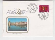 swiss 1982 olympic chess champioship, cover         a467