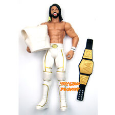 Seth Rollins WWE Champion Belt & Vest The Shield Wrestling Action Figure Kid Toy
