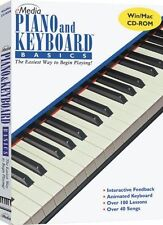 eMedia Piano and Keyboard Basics Instructional Software