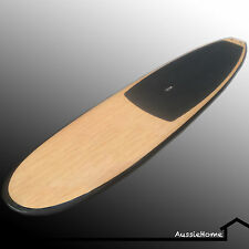 """11'.0"""" [3.5m] Bamboo  Stand Up Paddle Board (SUP) Extras incl adj paddle, cover"""