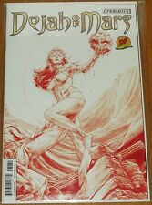 DEJAH OF MARS #3 DYNAMITE COMICS DF VARIANT RED RISQUE COVER