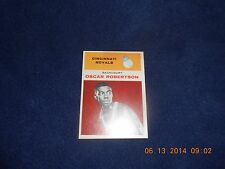 1961-62 Fleer Basketball Oscar Robertson Rookie Card # 36