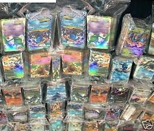 Pokemon 100 Mint  Cards In a Empty Storage Theme Deck Box + 5 Shiny Holo  Foils