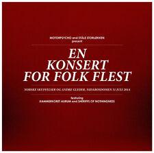 MOTORPSYCHO EN KONSERT FOR FOLK FLEST DOPPIO VINILE LP + CD + BOOKLET NUMERATO !
