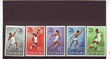 SURINAM - SG471-475 MNH 1960 OLYMPIC GAMES ROME