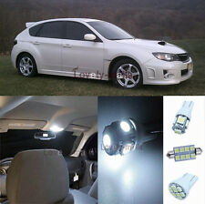 Premium White Lights SMD Interior LED Package Kit For Subaru Impreza 2002-2013
