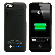 2200mAh External Battery Backup Charger Case Pack Power Bank for iPhone 5S 5C SE