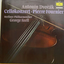 "DVORAK CELLOKONZERT PIERRE FOURNIER BERLINER PHILH. GEORGE SZELL 12"" LP (c631)"