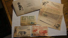 Vintage RAMON'S SAMPLE LAXATIVE,BROWNIE PILLS,PINK PILLS in ENVELOPE A.L. Smith