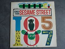 Songs from Sesame Streets - 1970 - Un Rue Sesame - 33t