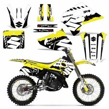 Decal Graphic Kit w/ Backgrounds Suzuki RM125 RM 125/250 RM250 Dirt Bike 93-95 W