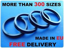 4x Alloy Wheels Hub Spigot Rings Centric Rings 56.1mm / 54.1mm