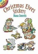 Dover Little Activity Books Stickers: Christmas Elves Stickers by Diana...