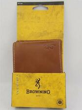 Browning Executive Leather Bifold Wallet/Organizer for Men - New