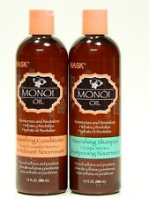 Hask Monoi Oil Nourishing Shampoo & Conditioner 12 oz