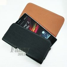Leather of Belt Clip Pouch Holster Cover Case for Sony Xperia SP LTE C5303