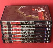 Anime DVD Lot 7 Baki The Grappler Incomplete Set 1-3 5-7 10 Fight Action Manga