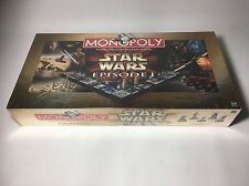SEALED & NEW MONOPOLY STAR WARS EPISODE I (1) 3D GAME BOARD COLLECTORS EDITION