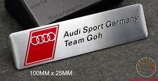 AUDI SPORT TEAM GOH EMBLEM SCHRIFTZUG A3 (goh) A4 S4 S3 RS TT s line quattro