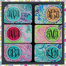 Lilly Pulitzer Personalized Monogrammed License Plate Car Tag Initials Custom