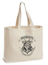 Hogwarts House Cotton Tote ECO canvas harry potter school/ picnic/ gift Bag