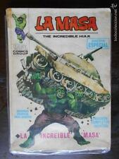 LA MASA THE INCREDIBLE HULK - Nº 1 - VERTICE - LEER DESCRIPCION (K2)