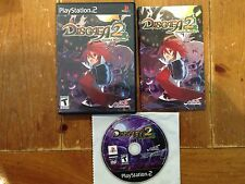 Disgaea 2: Cursed Memories PS2 Playstation 2 System Complete Game