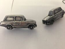 Triumph Herald 13/60 Estate 3D cufflinks classic car pewter effect ref254