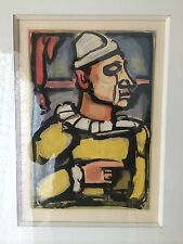 GEORGES ROUAULT Orig. Limited Edition 1934 Color Aquatint Etching   242/280