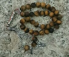 Tiger eye stone prayer beads / worry beads / Tasbeeh / Tasbih /Masbaha / Rosary