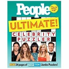 NEW Celebrity Puzzler Ultimate! by People Magazine Editors (2013, Paperback)