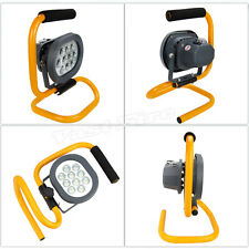 Best 60W Portable Rechargeable 10 LED Flood Spot Work Light Camping Fishing Lamp